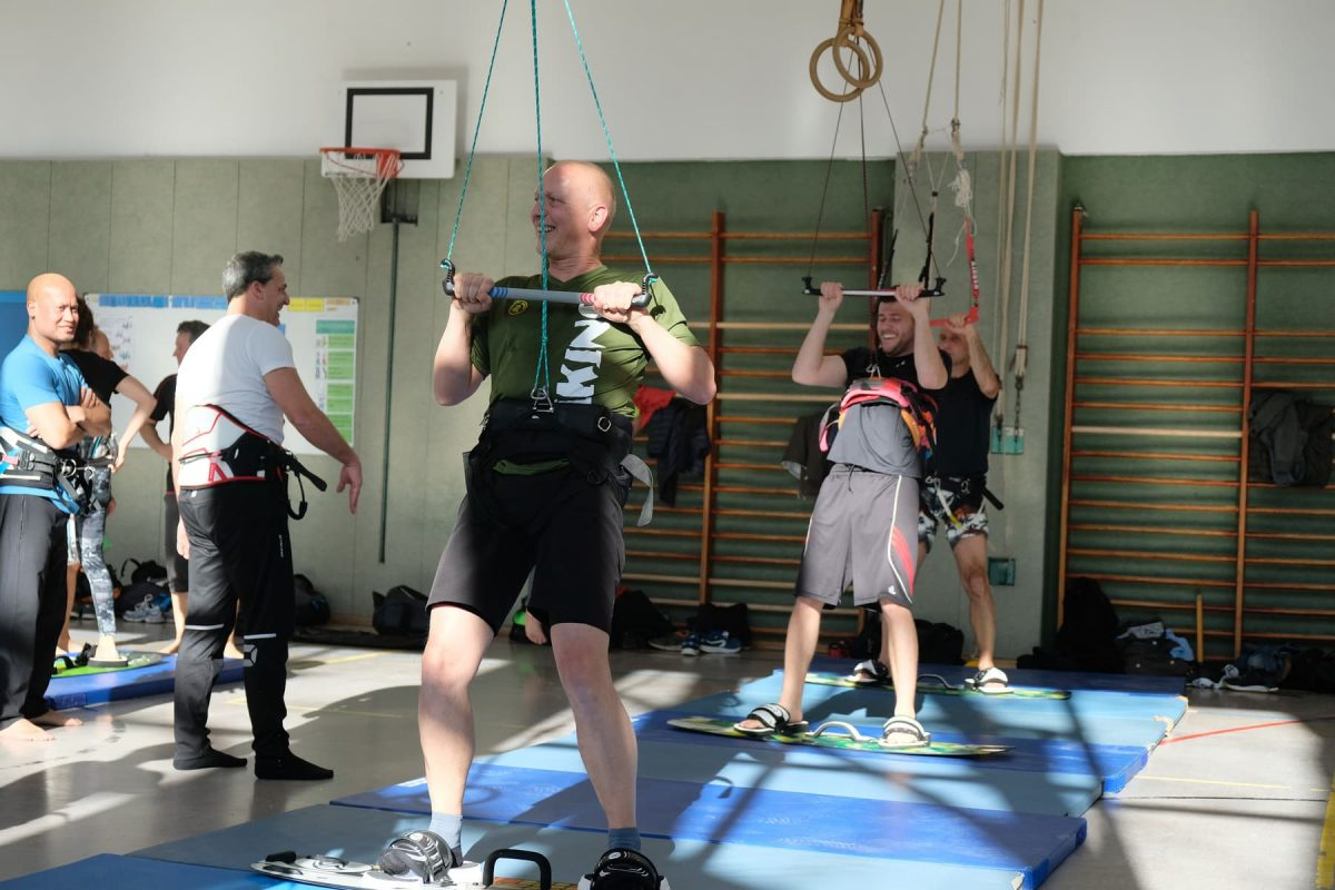 Sprungtraining in der Halle
